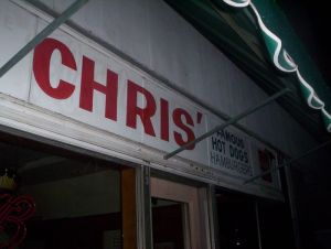 Chris' old facade