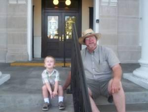 polk court house steps
