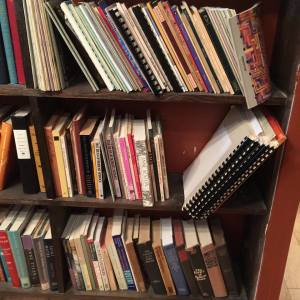 poetry shelf