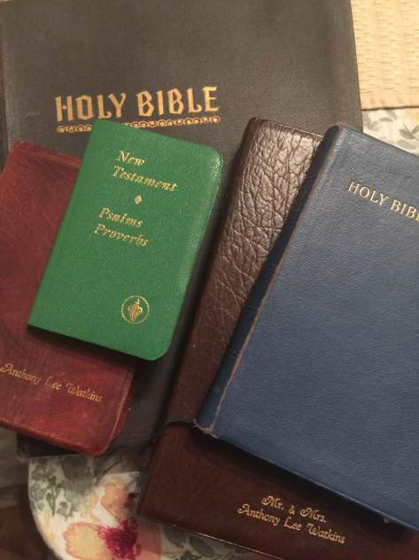 bibles a stack